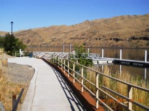 Path to Amphitheatre and Dock